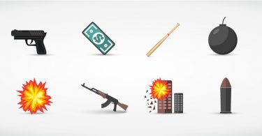 Crime Homicide Weapons Icons FBI CDC Stats